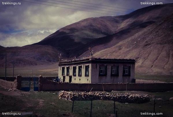 Въезжаем на Тибетское Нагорье