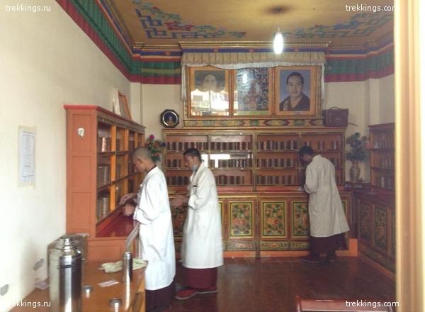 Госпиталь при монастыре Таши Лумпо