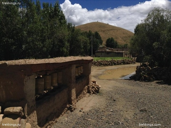 По дороге в Западный Тибет