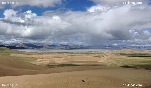 Дюны в Тибете
